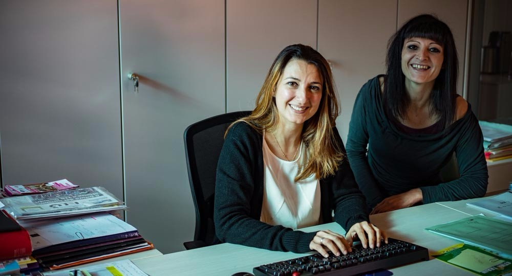 Irene and Federica, our Premium Traveller Team