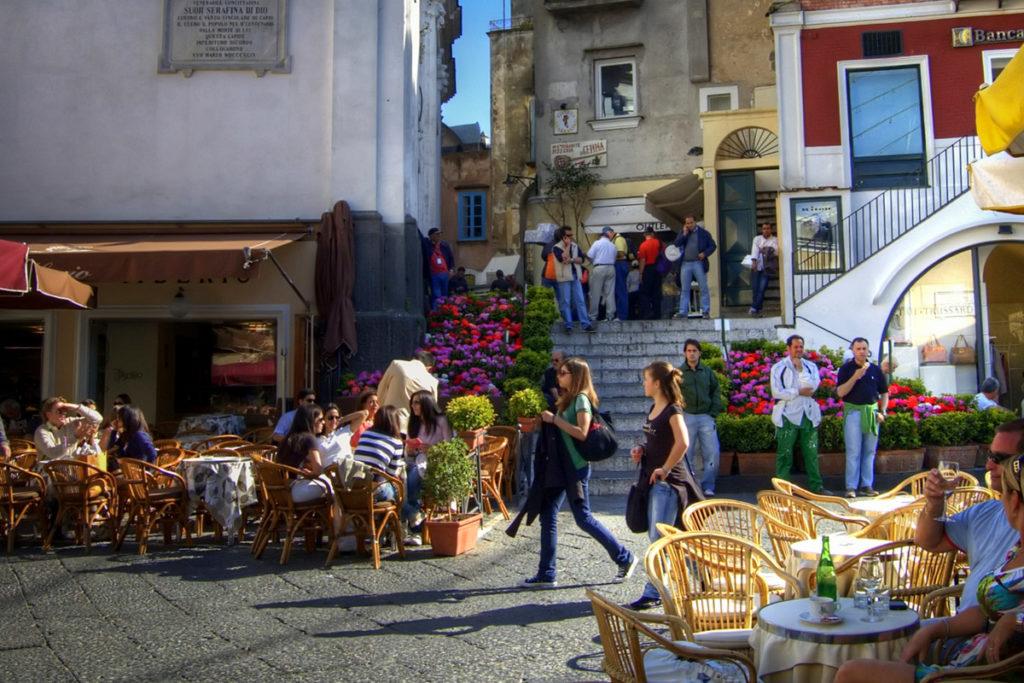 "The ""Piazzetta"" in Anacapri - Capri"