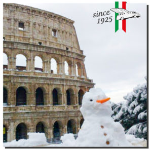 Mr. Snow and the Colosseum