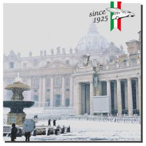 Vatican in the snow