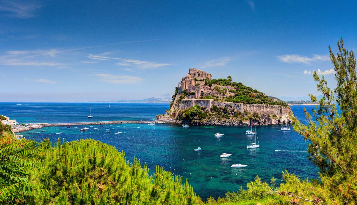 Aragonese Castle Ischia
