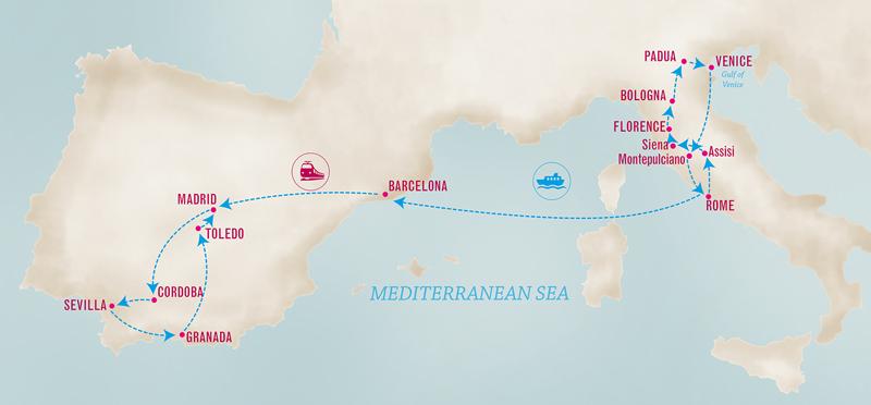 Mediterranean Dream Map