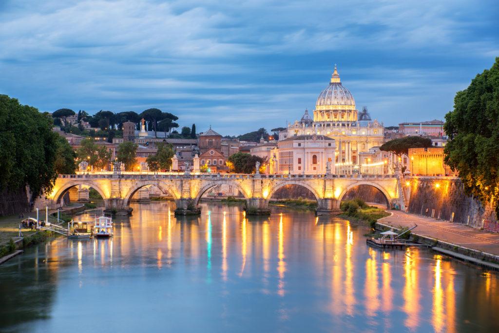 Vatican skyline