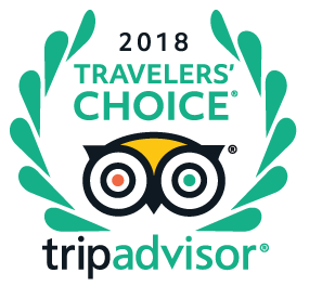 Certified by Tripadvisor Travelers' Choice