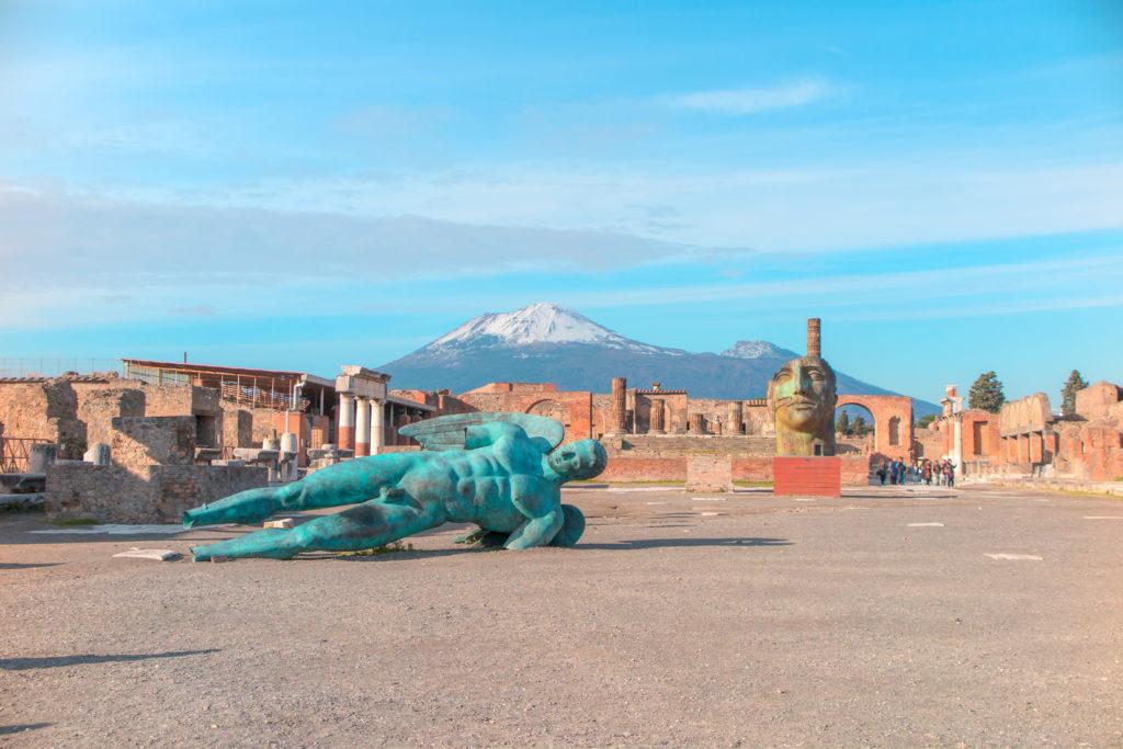 Pompeii skyline